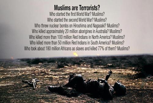 essay on muslims are not terrorist Muslim-americans aren't terrorists although the fbi has said that most terrorist acts are not committed by muslims.