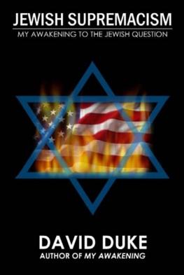 Billedresultat for Jewish Supremacism By David Duke