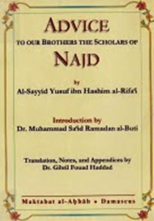 Advice Rejected by the Scholars of Najd – Rasool ur-Rahmah (The ...