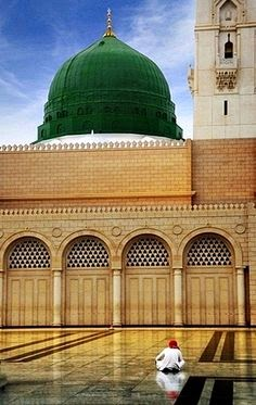 Najdi wahhabi-Blessed Green Dome -Destroyed