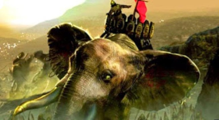 Abd al-Muttalib and the elephants of Abraha