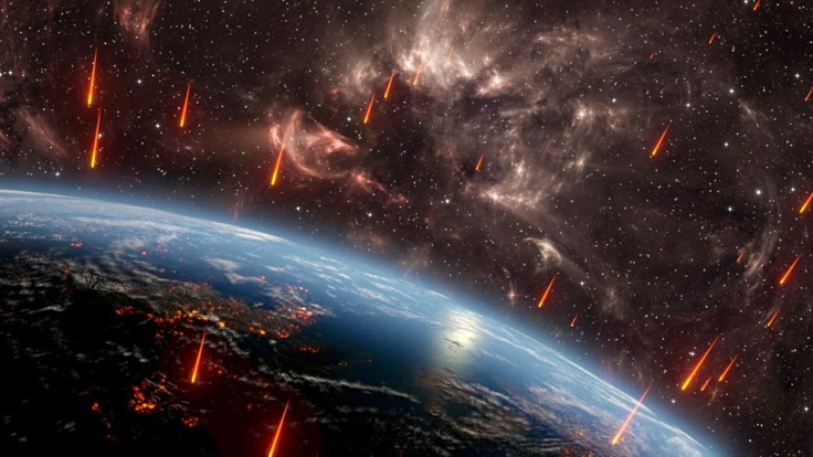 The Devils Were Assailed with Flaming Meteors