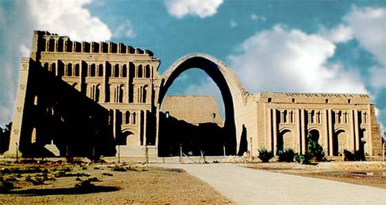 The Toppling of Kisra's Arch on the Day of the Prophet's Birth